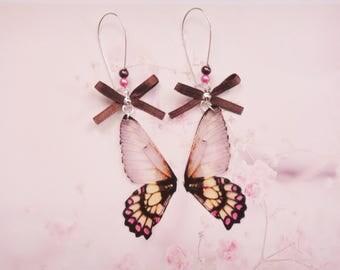 earrings butterfly wings
