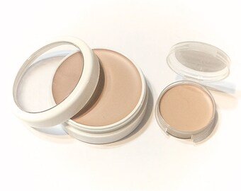 CASHEW CREAM Perfecting Cream Foundation - Creamy Foundation Concealer - Gluten Free Vegan Makeup