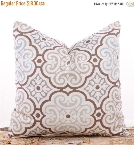 Muted Blue Throw Pillows : SALE ENDS SOON Light Muted Blue Throw Pillow Covers by LilyPillow