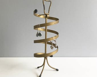 Earring Holder Display Stand / Jewelry Spinning Display Stand