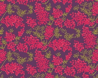 Lewis & Irene 'DISCOUNTED Clearance Price' Arboretum A025-2 Berries Patchwork Quilting Fabric