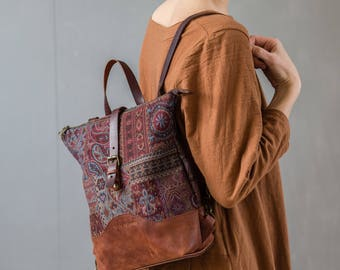 "Backpack ""Plum"""