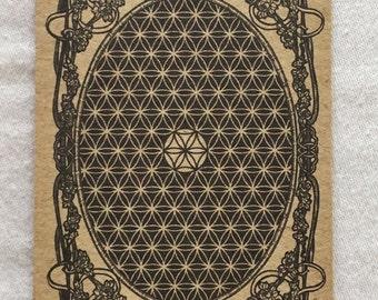 Sacred Geometry BOOKMARK original print