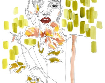 Lily- Illustration/Art Print