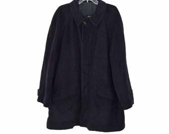 Vintage Corneliani men coat wool Made in Italy