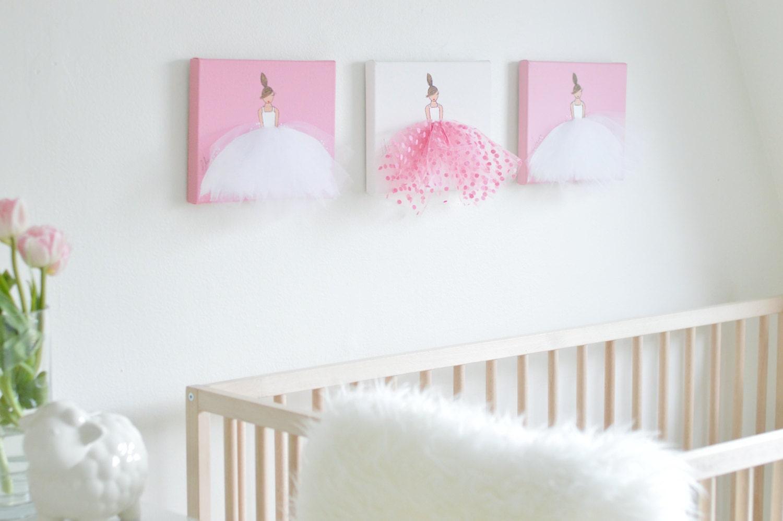 nursery decor nursery art nursery print ballerina art original. Black Bedroom Furniture Sets. Home Design Ideas