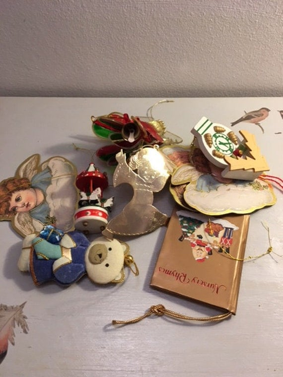 Lot of Vintage Christmas Decorations - 18 Items Total
