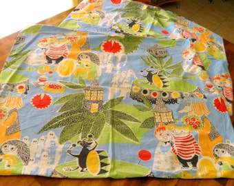 "Moomin Characters (Finland / Finlayson) Pillowcase Pair -- 24-1/2"" Long x 20"" Wide -- So Charming!"