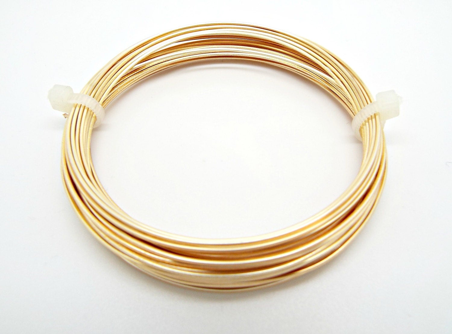 Gold Square Wire, Gilt on Copper, 20 Gauge Wire, 6 Metres Copper ...