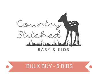 Pick Your Own 5 Bibs