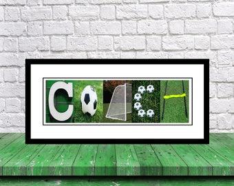 Soccer Coach Gift - Team Soccer Coach Gift - Coach Gift Soccer - Best Soccer Coach Gift - Coach Letter Art Print - Coach Print - Gift