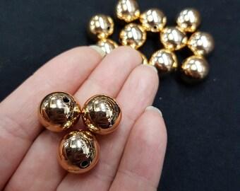 10 x 14mm Non Tarnish Spacer Beads