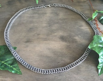Chain Maille Chain / Necklace Half Persian