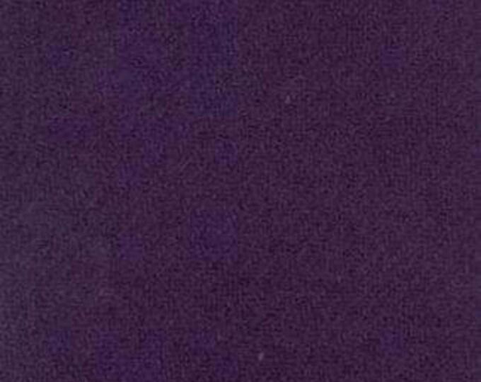 Moda 100% Wool Purple 5481047 - 1/2 yd x 54 inches
