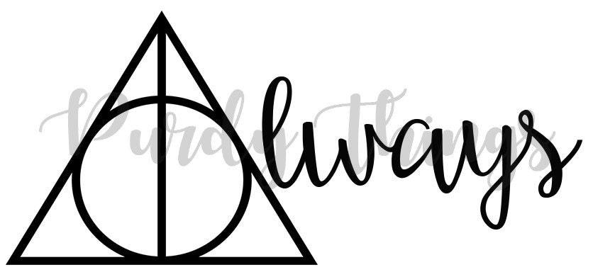 Harry Potter Always SVG PNG Digital File Instant Download