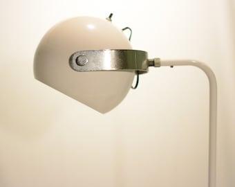Sonneman Floor Lamp White and Chrome