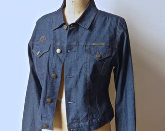 Jordache Dark Denim Jacket