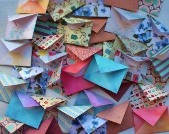 10 Mini Envelopes, random mix, ephemera, scrapbooking, junk journal
