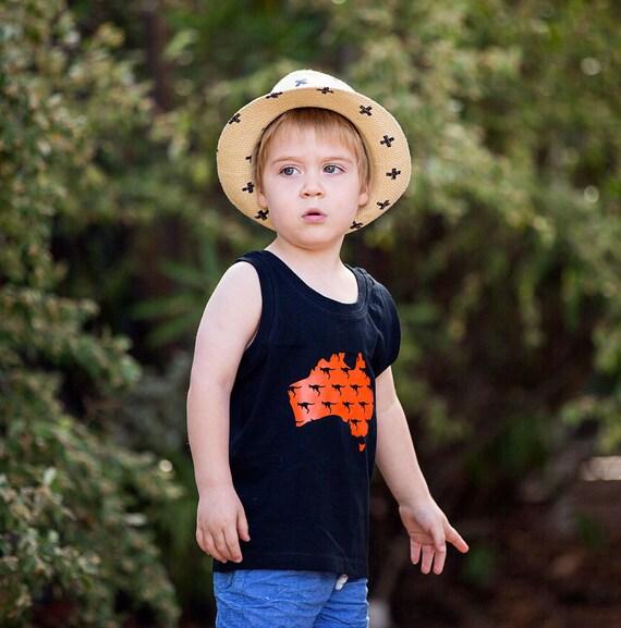Baby Boy Gifts Australia : Items similar to australiana kids shirt australian baby