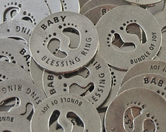 Baby Blessing Coins - SET OF 10
