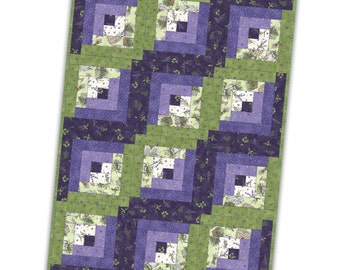 Thyme With Friends Pre Cut Quilt Kit by Maywood Studio with Top and Binding Fast Shipping K251