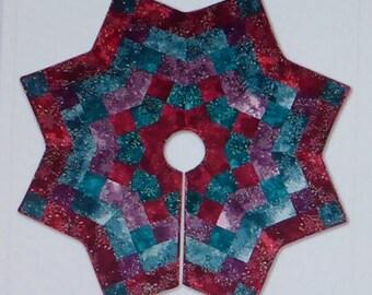 Pattern~Kringle's Kaleidoscope~Christmas Tree Skirt  McKenna Ryan Pattern,Fast Shipping PT479