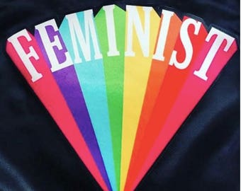 """10"""" Feminist Back Patch"""