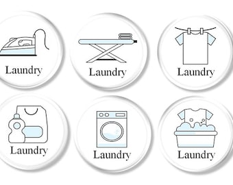 Laundry Room Drawer Pulls   Wash Day Chore Knobs, Cabinet, Cupboard, Door,