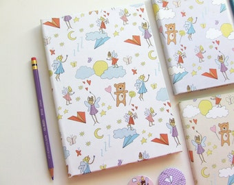 Hardcover Dreams Journal - Pastel Colourful Pages - Diary A5