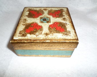 Hinged Trinket Box made in Florence ITALY