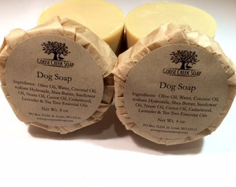 All Natural Dog Soap
