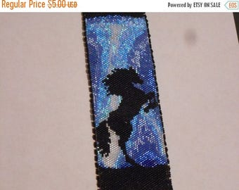 SALE HALF PRICE off Instant Download Beading Pattern Peyote Stitch Bracelet Thunder Horse Seed Bead Cuff