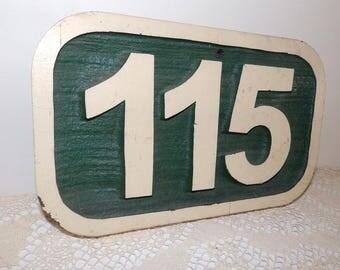 Vintage Wood Sign 115