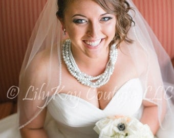 Bridal Necklace Pearl Bridal Jewelry Chunky Wedding Necklace Swarovski Crystal Wedding Necklace Wedding Jewelry Bridal Jewelry