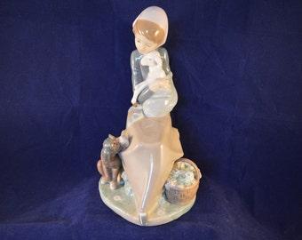 Retired LLADRO figurine - Jealousy / Devotion - 1278 - Perfect