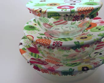 Reusable Bowl Covers, Apple
