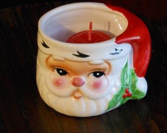 Santa Votive Candle