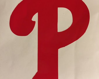 P is for Phillies Vinyl Decal