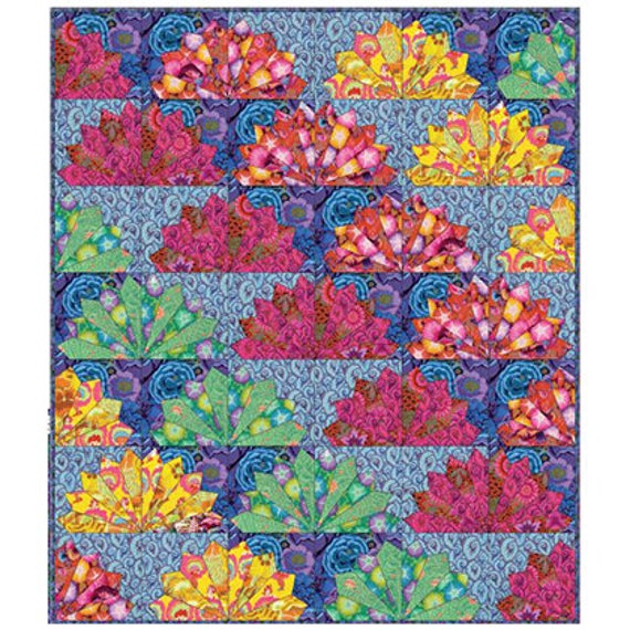 FAN DANCE Quilt Fabric Pack  Kaffe Fassett Collective 2017