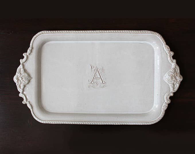 Customized Rectangular Baroque Platter
