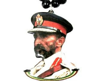 His Imperial Majesty Rasta Medallion/Necklace (Small)