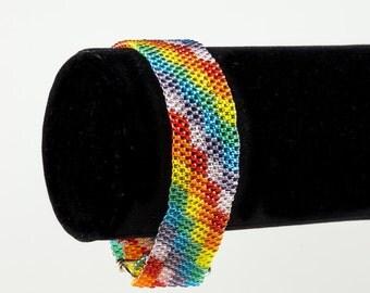 Rainbow Plaid Bracelet
