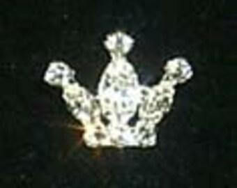 Style # 11890 Rhinestone Crown Pin