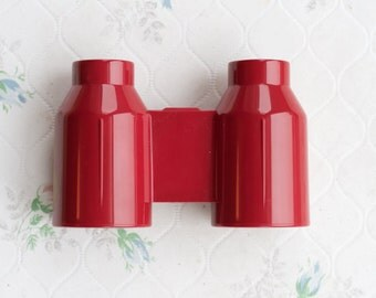 Plastic Binoculars in Red
