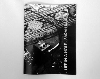 Life In A Hole zine photobook