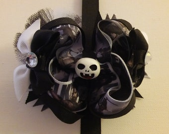 Small Walking Dead inspired boutique bow