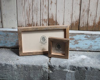 Recycled timber Picture Frame, Rustic Photo Frame, A4, A3, 8x10, 6x4, All Sizes