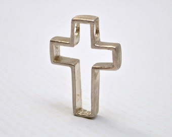 Sterling Silver Cross Pendant #6446