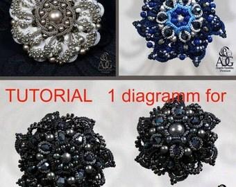 tutorial: broosh Black Flower