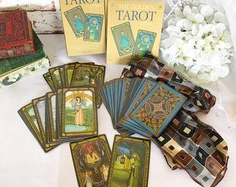 Tarot cards | Etsy Golden Tarot Liz Dean